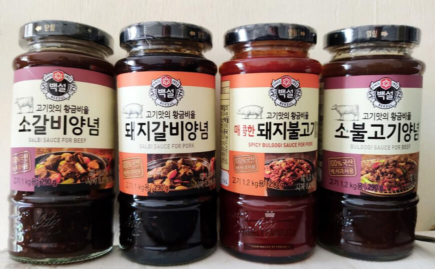 корейские bbq соусы
