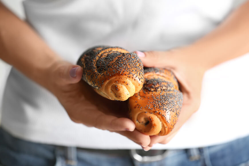 маковые булочки