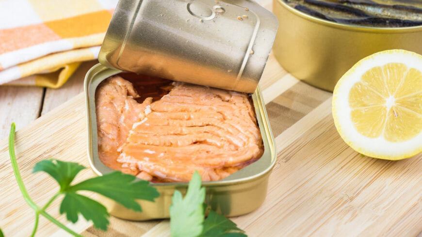 лосось в собственном соку